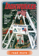 URE article in Ironworker Magazine
