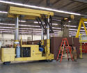 Our Tri-Lifter in use to set a precision cutting machine in Santa Ana, CA.